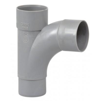 Té pied de biche à 87°30 Mâle / Femelle Girpi - Diamètre 40 mm