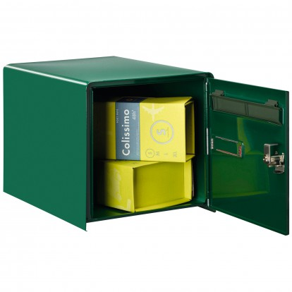 Boîte aux lettres à ouverture totale R-Box Lys Decayeux - Double face - Vert