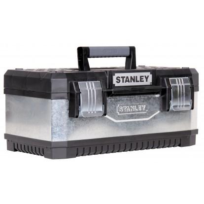 Boîte à outils bi-matière galvanisée Stanley - L x l x h - 500 x 300 x 225 mm
