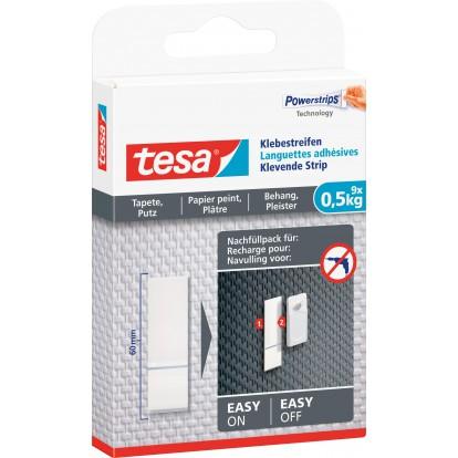 Languettes de rechange pour clou adhésif papier peint et plâtre tesa® - 0,5 kg