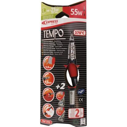 Fer à souder Tempo Express - Panne diamètre 3 mm - 55 W