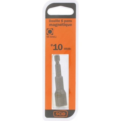 Douille 6 pans magnétique SCID - 10 mm