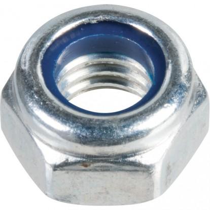 Écrou hexagonal indesserrable zingué - Ø 6 mm - Boîte de 200 - Viswood