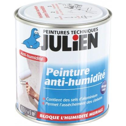 Peinture anti-humidité Julien - Boîte 500 ml