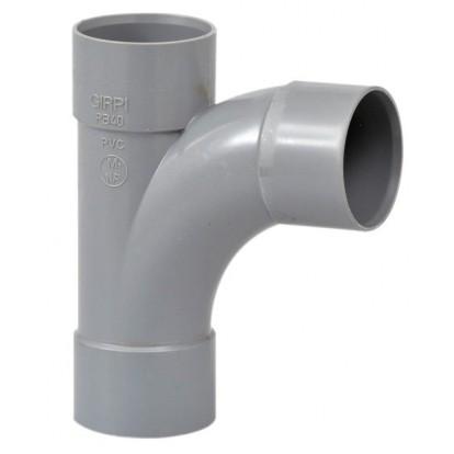 Té pied de biche à 87°30 Femelle / Femelle Girpi - Diamètre 40 mm