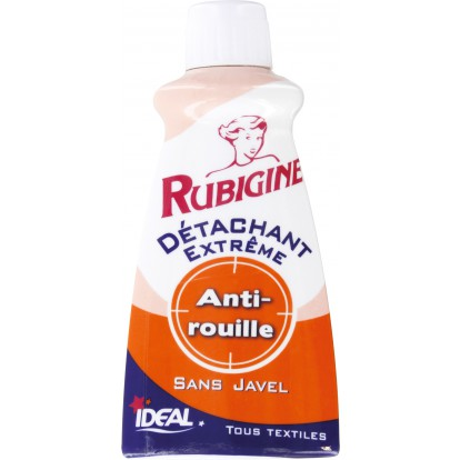 Détachant rouille Rubigine - Flacon 100 ml