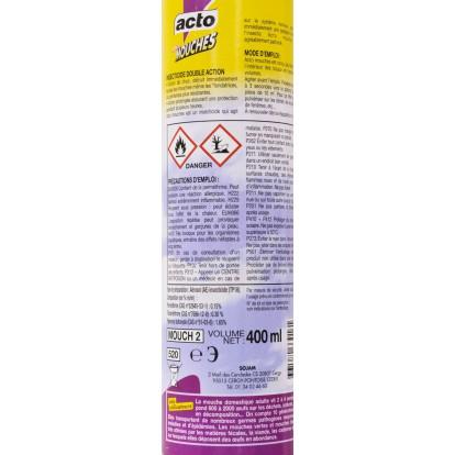 Mouches résistantes-guêpes aérosol Acto - 400 ml