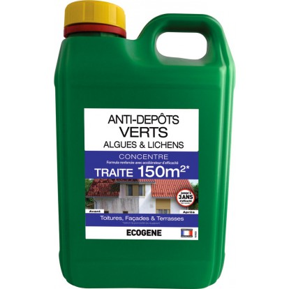 Anti-dépot vert Ecogène - Bidon 2 l
