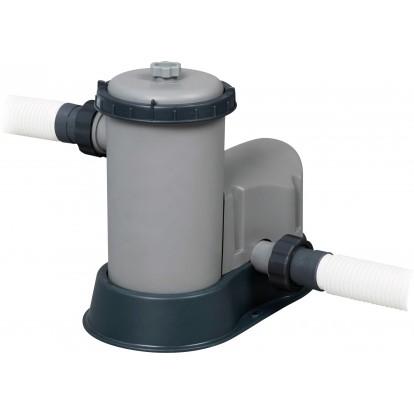 Piscine rectangulaire Power Steel Bestway - 549 x 274 x 122 cm - Filtre à cartouche