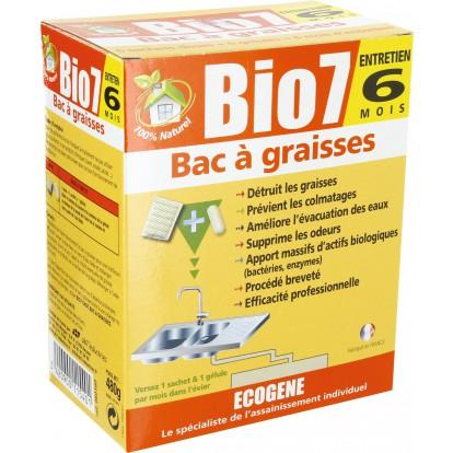 Bio 7 graisses Ecogène - 480 g - 6 sachets dose