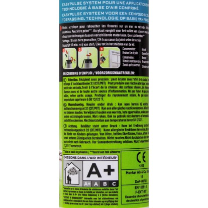 Mastic Go construction je rebouche Rubson - MSP 100 ml