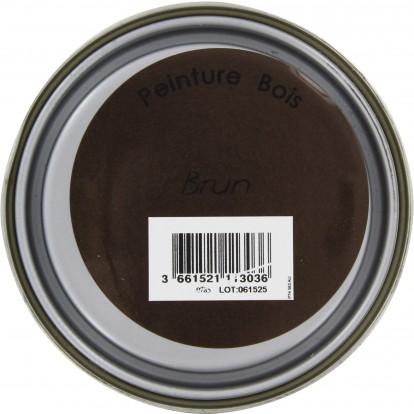 Peinture bois Addict - 0,5 l - Brun