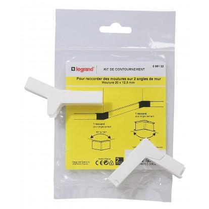 Système de moulure 20 x 12,5 mm Legrand - Contournement