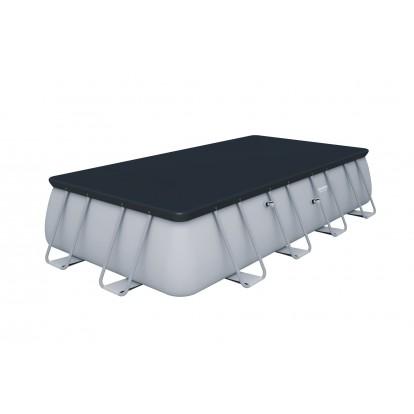 Piscine hors sol rectangulaire Power Steel™ Bestway -  549 x 274 x 122 cm - Filtre à sable
