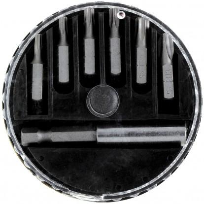 Set 6 embouts étoilés 25 mm S2 SCID - 7 pièces - T10 à T40