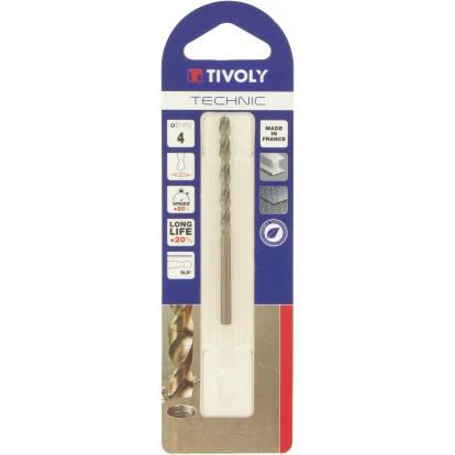 Foret métaux Technic SLR Tivoly - Diamètre 4 mm