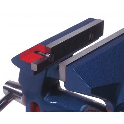 Etau équipé serre-tube Dolex - Longueur Mâchoires 125 mm - Sans base tournante