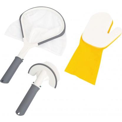 Kit de nettoyage Spa 3pcs Bestway -