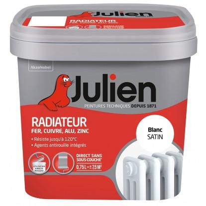 Peinture radiateur Julien - 750 ml - Blanc