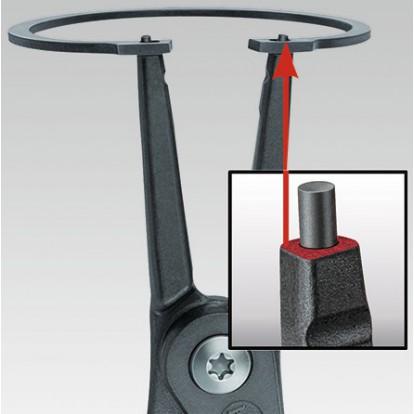 Pince circlips extérieur Knipex - Pour circlips extérieur de diamètre 19 à 60 mm
