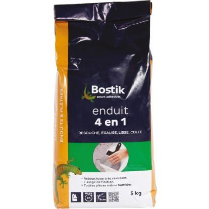 Enduit en poudre 4 en 1 Bostik - Sac 5 kg