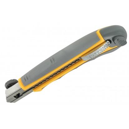 Cutter pro avec rechargement automatique Outibat - Lame 18 mm