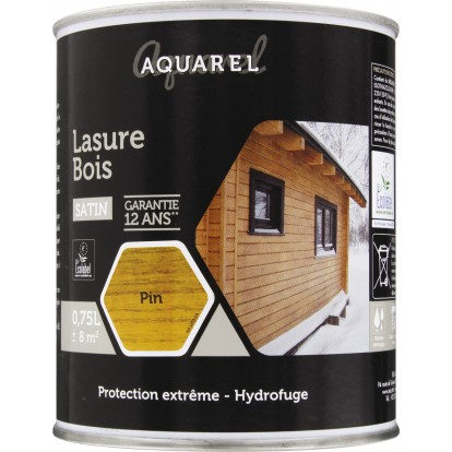 Lasure Aquarel Reca - 0,75 l - Pin