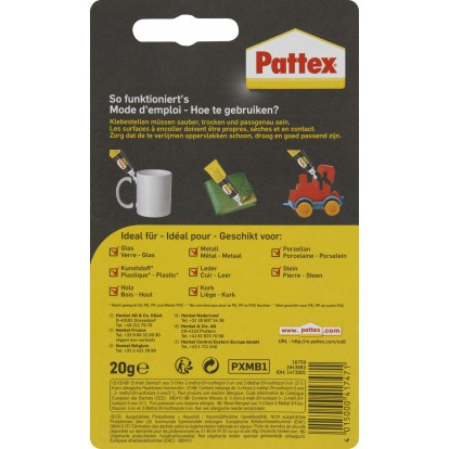 Colle multi-usages Pattex - Tube 20 g