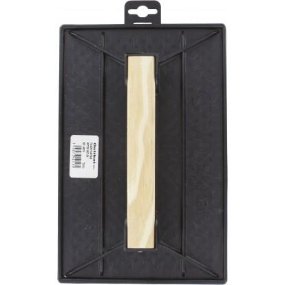 Taloche plastique noire rectangulaire Outibat - Dimensions 18 x 27 cm
