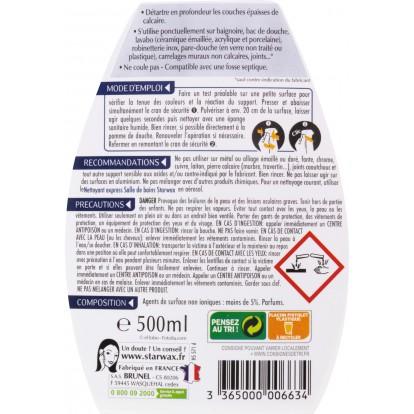 Détartrant surpuissant Starwax - Pulvérisateur 500 ml