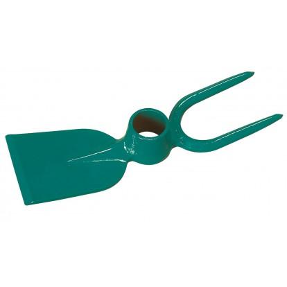 Serfouette panne et fourche Cap Vert - Sans manche forgée