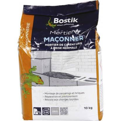 Mortier à maçonner Bostik - Sac 10 kg