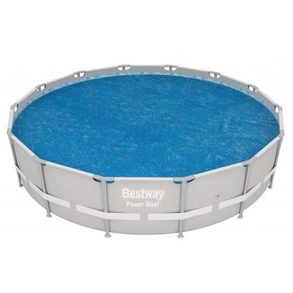 Bâche solaire pour piscine Flowclear Bestway - Diamètre 4,17 m