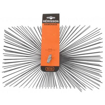 Hérisson rectangulaire acier plat SCID - Dimensions 250 x 400 mm