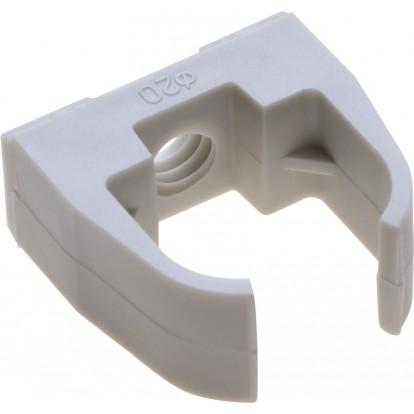 Clip ouvert avec cheville Dhome - Diamètre 20 mm - Vendu par 10