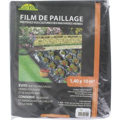 Film de paillage Cap Vert - Longueur 10 m - Largeur 1,4 m