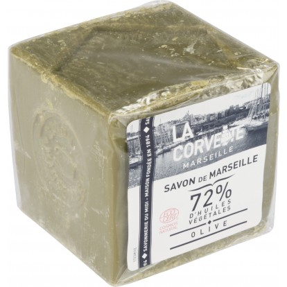 Savon de Marseille huile d'olive La Corvette - 300 g