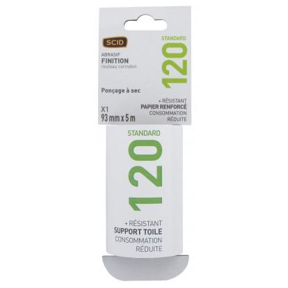 Rouleau abrasif SCID - Grain 120 - Vendu par 1