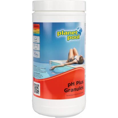 Correcteur pH+ Planet Pool - Seau de 1 kg
