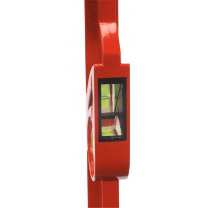 Niveau trapèze bi-matière Outibat - Longueur 60 cm
