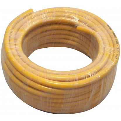 Tuyau propane PVC orange Cap Vert - Diamètre intérieur 6,3 mm x extérieur 12 mm