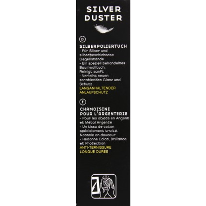 Chiffon Silver Duster Hagerty