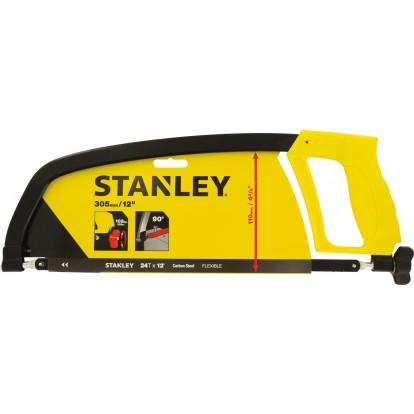 Scie à métaux poignée révolver Stanley - 300 mm
