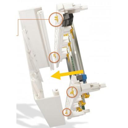 Coffret à équiper Drivia Legrand - Dimensions 250 x 250 x 103,5 mm