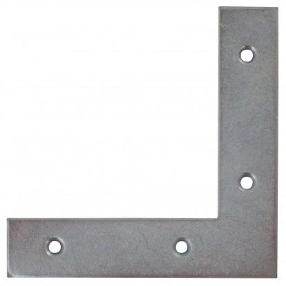 Equerre de fenêtre bouts carrés acier zingué Jardinier Massard - Dimensions 10 x 10 cm