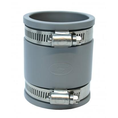 Manchette souple multi-matériaux à joint Girpi - Femelle / Femelle - Diamètre 40 mm