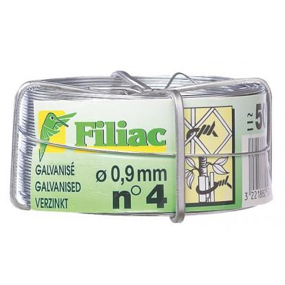 Fil galvanisé Filiac - Longueur 50 m - Diamètre 1,5 mm