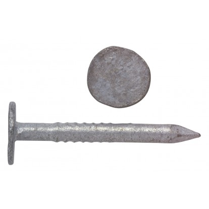 Pointe ardoise tête extra large Arcelor Mittal - Longueur 60 mm - Diamètre 3 mm - 5 kg