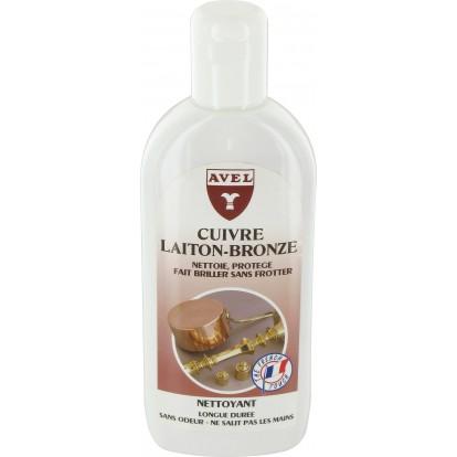 Nettoyant cuivre, laiton et bronze Avel - Flacon 250 ml