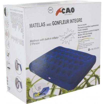 Matelas gonflable Cao Camping - Duo - Gonfleur incorporé